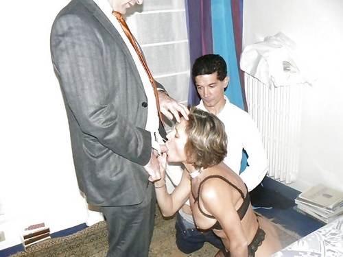 homme feminisé par sa femme
